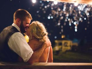 The wedding of Tiffani and Ryan