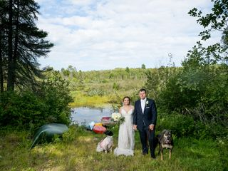 The wedding of Hailey and Brady