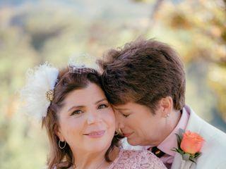 The wedding of Linda and Roxanna 1