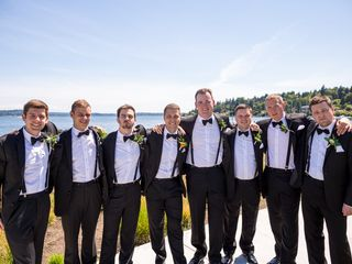 Shannon and Vincent's Wedding in Seattle, Washington 8