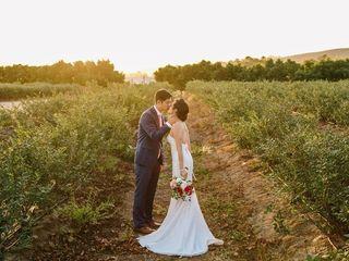 Annie and Brian's Wedding in Camarillo, California 15
