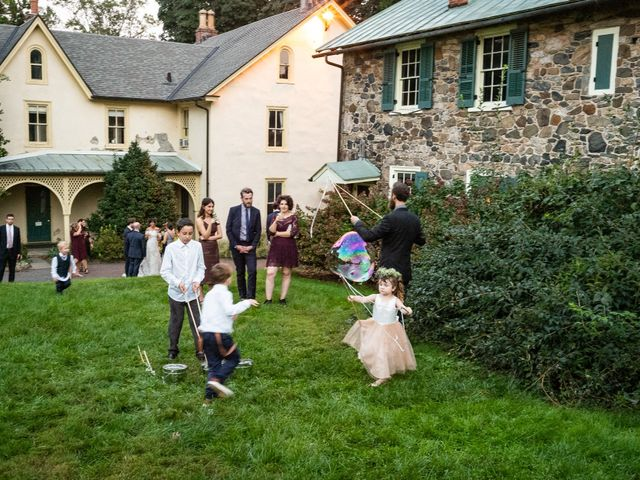 Will and Emily's Wedding in Media, Pennsylvania 25