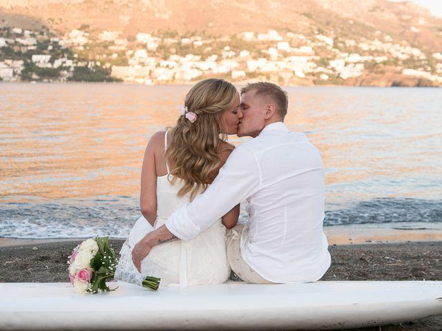 Maria and Alex's Wedding in Mykonos, Greece 9