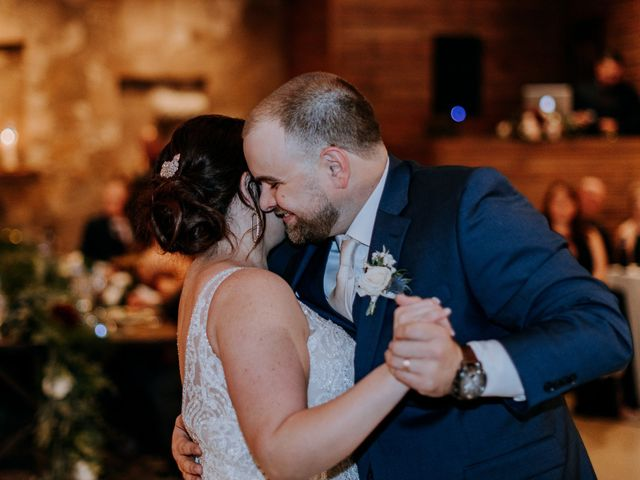 The wedding of Madison and Blair