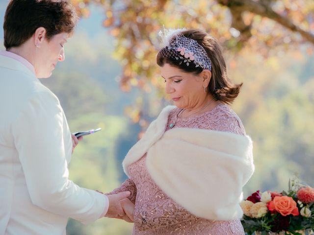 Roxanna and Linda's Wedding in Asheville, North Carolina 28