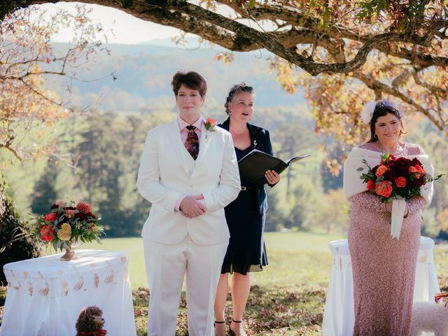 Roxanna and Linda's Wedding in Asheville, North Carolina 33
