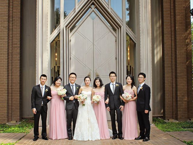 Xing and Mengchao's Wedding in Fort Worth, Texas 14