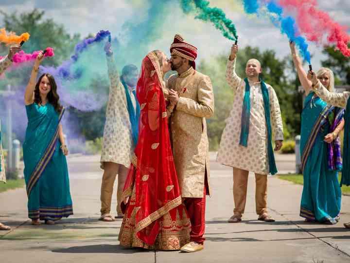 The wedding of Rachel and Nishant