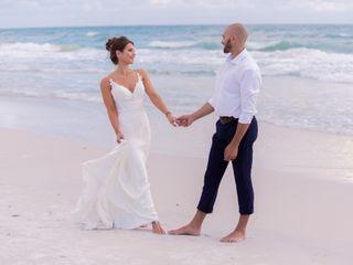 The wedding of Dana and Tom