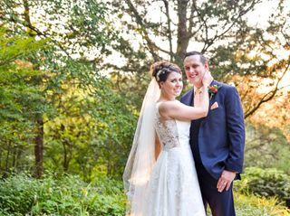 The wedding of Katie and Bennie