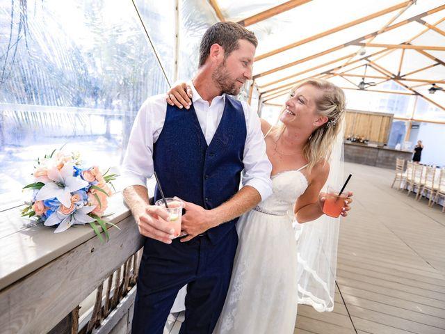 Tyler and Kim's Wedding in Wildwood, New Jersey 4