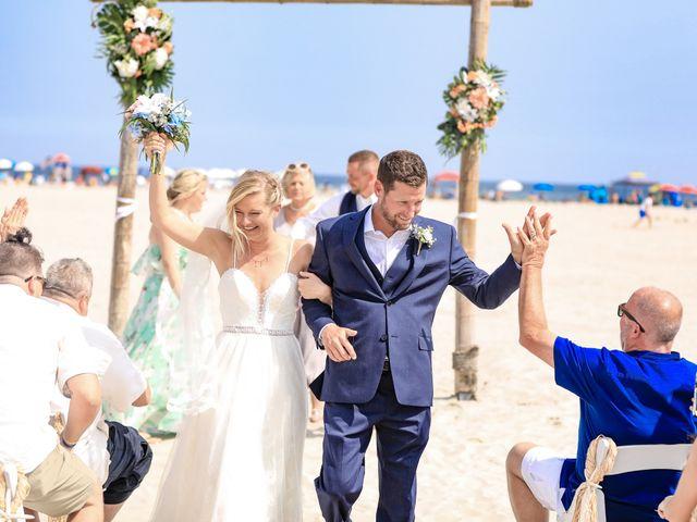 Tyler and Kim's Wedding in Wildwood, New Jersey 9