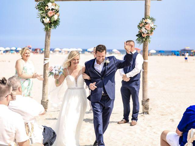 Tyler and Kim's Wedding in Wildwood, New Jersey 10