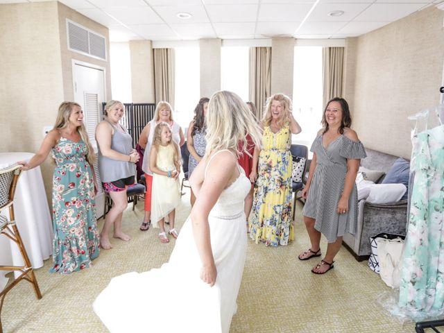 Tyler and Kim's Wedding in Wildwood, New Jersey 21