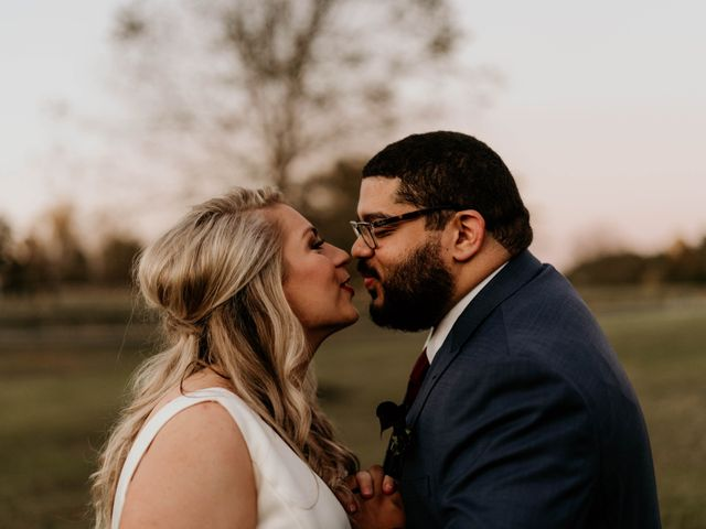 The wedding of Kaylin and Steven