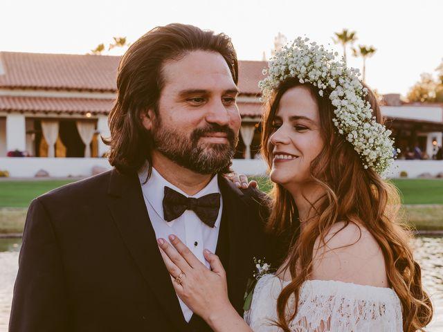 Anna and Marco's Wedding in Tubac, Arizona 11