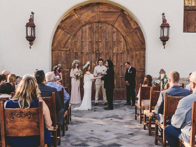 Anna and Marco's Wedding in Tubac, Arizona 12