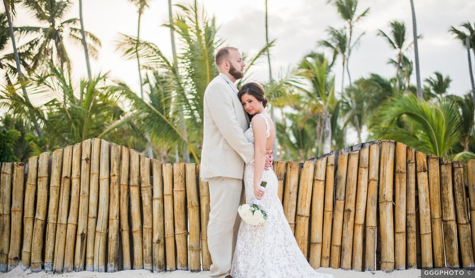 Ian and Carrie's Wedding in Bavaro, Dominican Republic