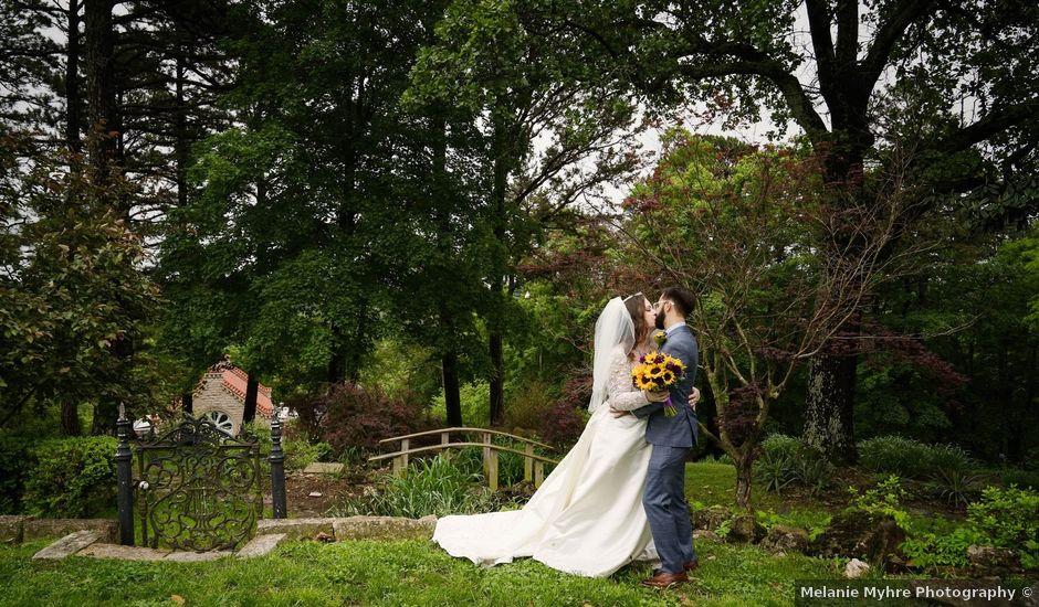 Bradley and Na'amah's Wedding in Eureka Springs, Arkansas