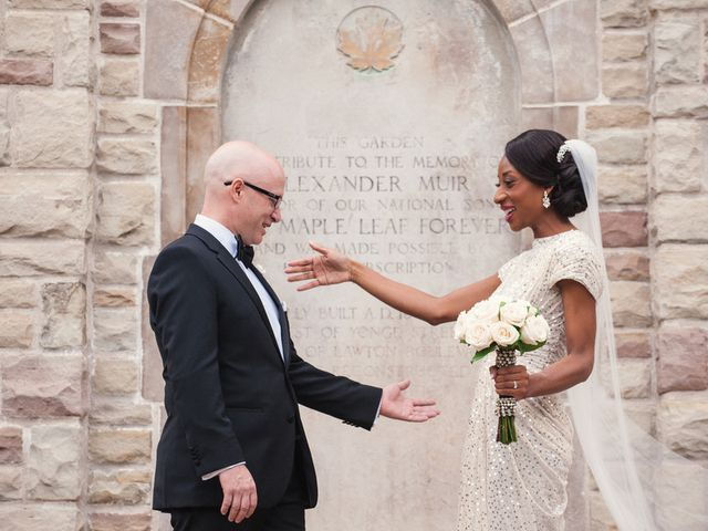 Lesley-Ann and Glen's Wedding in Toronto, Ohio 6