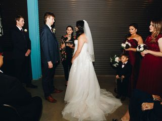 The wedding of Alana and Andrew 1