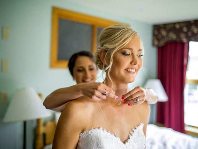 Krista and Nick's Wedding in Kingfield, Maine 4