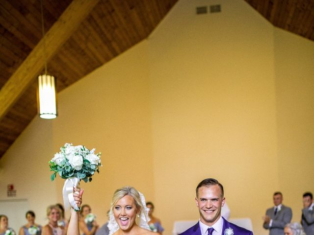 Krista and Nick's Wedding in Kingfield, Maine 7