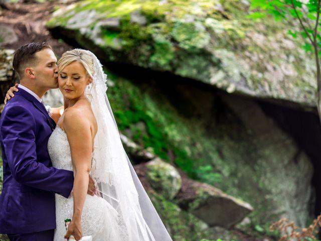 Krista and Nick's Wedding in Kingfield, Maine 9