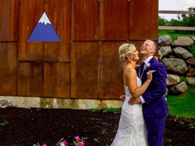 Krista and Nick's Wedding in Kingfield, Maine 10