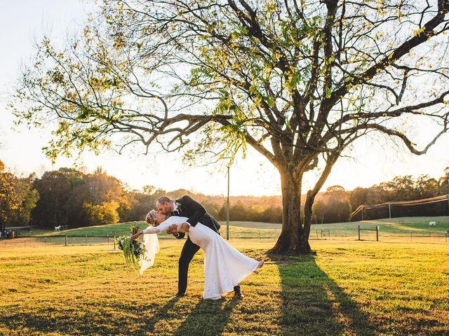 The wedding of Caitlin Dobbins and Chris Dobbins