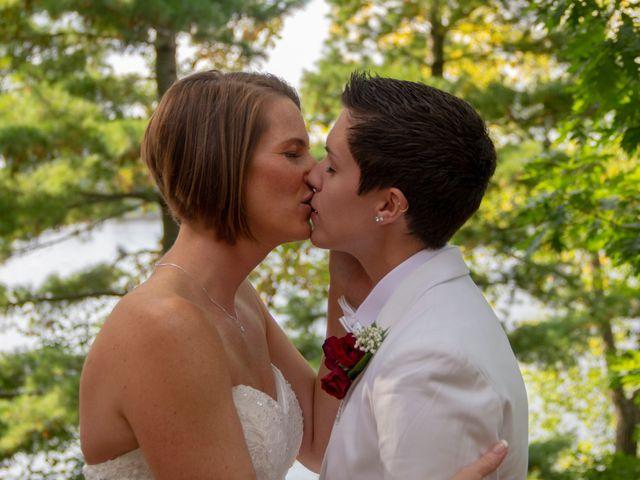 The wedding of Sammy and Melisa