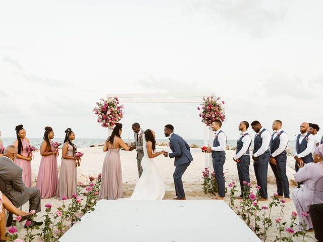 Aleisha and Tim's Wedding in Belize City, Belize 6