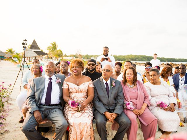 Aleisha and Tim's Wedding in Belize City, Belize 12