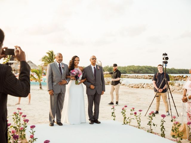 Aleisha and Tim's Wedding in Belize City, Belize 18
