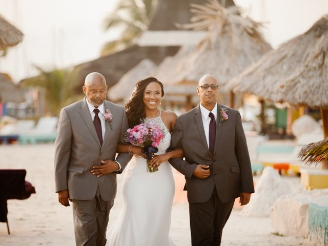 Aleisha and Tim's Wedding in Belize City, Belize 19