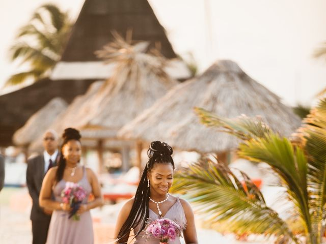 Aleisha and Tim's Wedding in Belize City, Belize 24