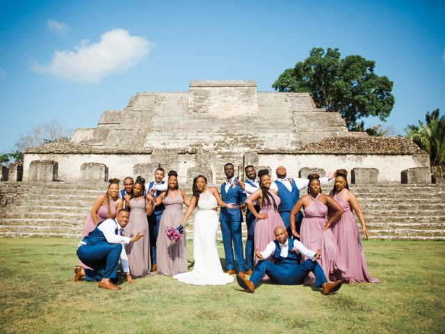 Aleisha and Tim's Wedding in Belize City, Belize 30