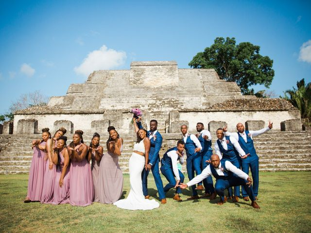 Aleisha and Tim's Wedding in Belize City, Belize 32