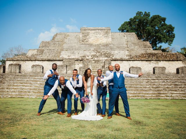 Aleisha and Tim's Wedding in Belize City, Belize 35