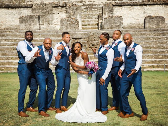 Aleisha and Tim's Wedding in Belize City, Belize 36