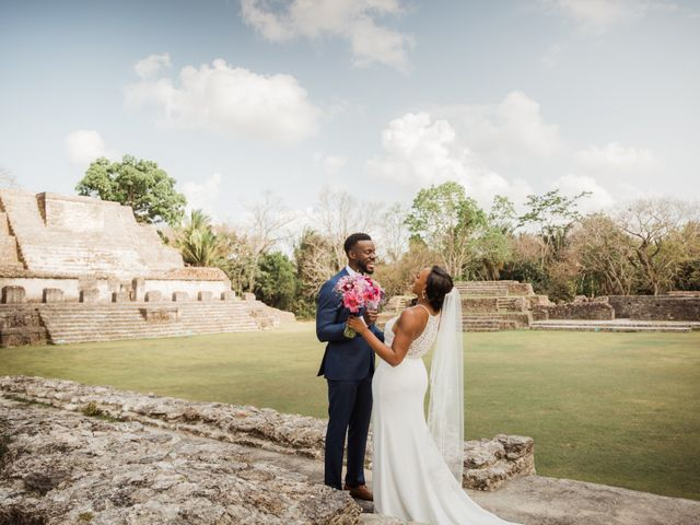 Aleisha and Tim's Wedding in Belize City, Belize 46
