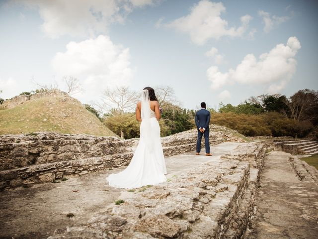 Aleisha and Tim's Wedding in Belize City, Belize 50