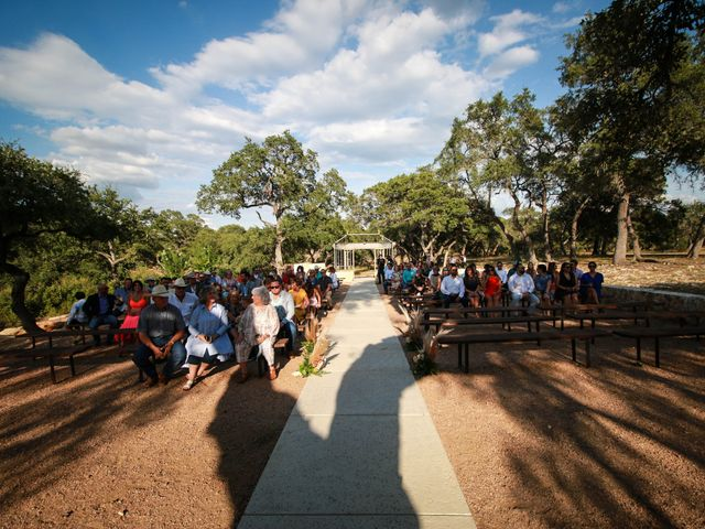 Ronnie and Jordie's Wedding in Spring Branch, Texas 4