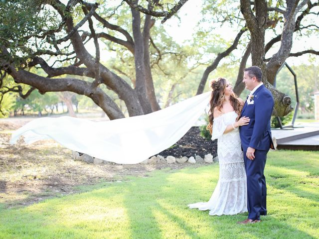 Ronnie and Jordie's Wedding in Spring Branch, Texas 26