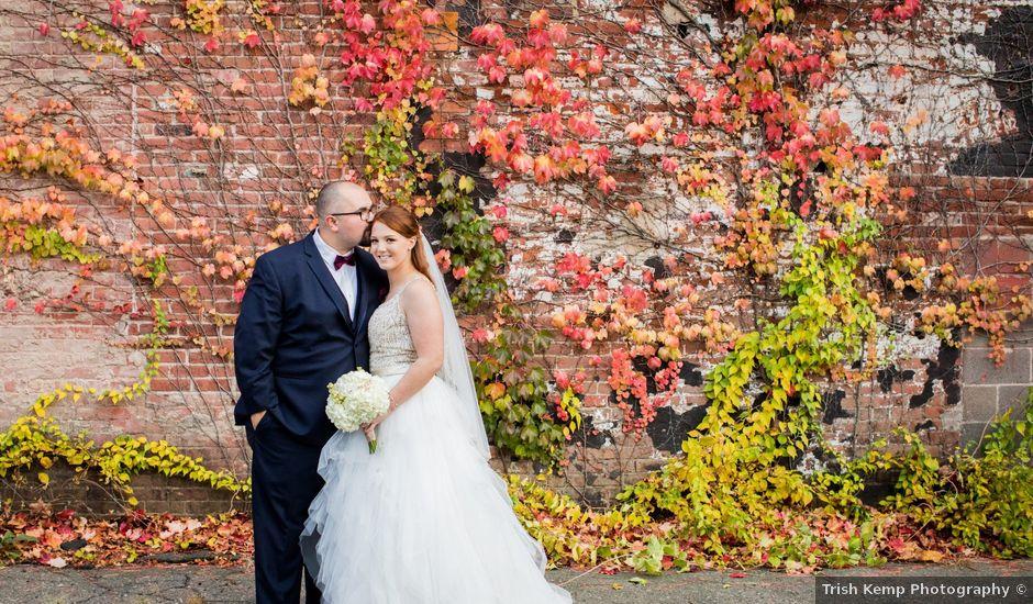 Andy and Maria's Wedding in Holyoke, Massachusetts