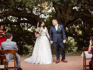 The wedding of Selene and Anthony  1