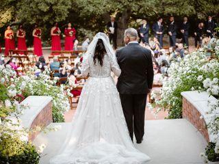 The wedding of Selene and Anthony  2