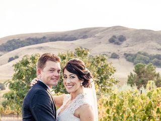 Stephanie and Cameron's Wedding in Sonoma, California 13