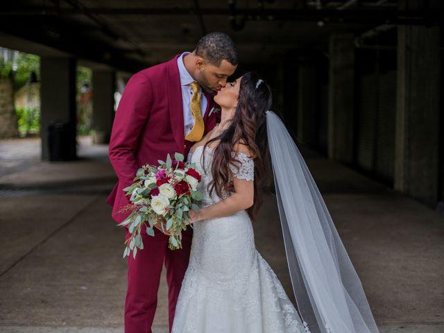 The wedding of Jennifer and De'Jon