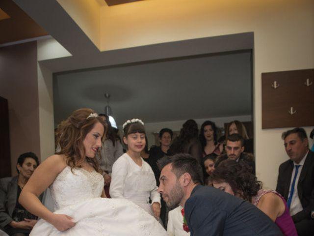 Frangoylis and Angelika's Wedding in Santorini, Greece 8